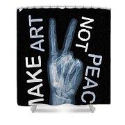 Rise Peace Shower Curtain