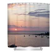 Risenshine Shower Curtain