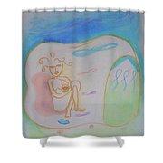 Rishikesh Shower Curtain