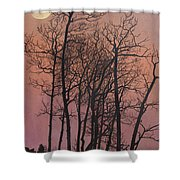 Rising Of The Moon  Shower Curtain