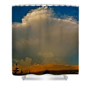 Rising Storm Shower Curtain