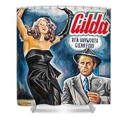 Rita Hayworth Gilda 1946 Shower Curtain