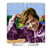 Rita Pavone Collection - 1 Shower Curtain