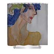 Rita's Recital Shower Curtain by Beverley Harper Tinsley