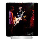 Ritchie Blackmore Super Nova Lighting Effect - Oakland Auditorium 1979 Shower Curtain