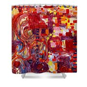 Rite Of Spring Shower Curtain