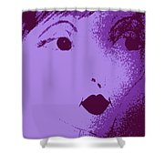 Ritratto Di Donna Shower Curtain
