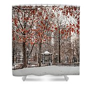 Rittenhouse Snowscape Shower Curtain