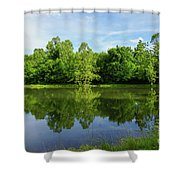 Ritter Springs Pond Shower Curtain