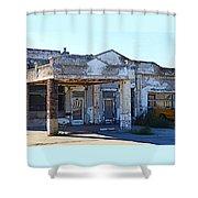 Ritzville Ruins Shower Curtain