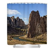 River And Rock Shower Curtain