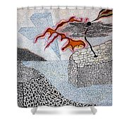 River And Water Shower Curtain