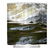 River Aux Sables, Ontario, May 2015 Shower Curtain