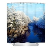 River Bann, Co Armagh, Ireland Shower Curtain