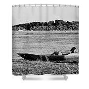 River Canoe Shower Curtain