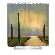 River Dreams Shower Curtain