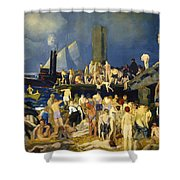 River Front Shower Curtain