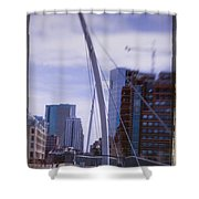 River Front Park Shower Curtain