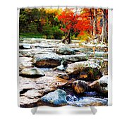 River Gone Shower Curtain