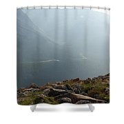 River In The Valley Shower Curtain