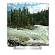 River Island Flow Shower Curtain