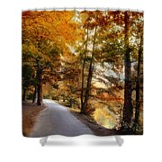 River Lights Shower Curtain