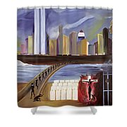 River Of Babylon  Shower Curtain