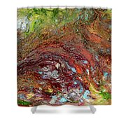 River Of Color Shower Curtain