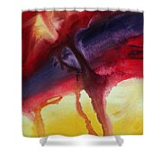 River Of Dreams 1 By Madart Shower Curtain