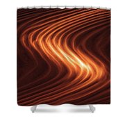 River Of Fire Shower Curtain