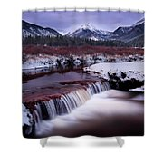 River Of Glass Shower Curtain