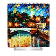 River Of Love Shower Curtain