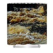 River On The Rocks IIi Shower Curtain