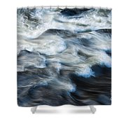 River Over Rocks Shower Curtain