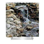 River Rock Of The Unknown Shower Curtain