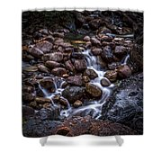 River Rocks Shower Curtain