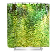 River Sanctuary Shower Curtain