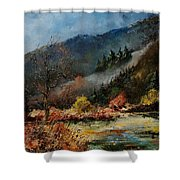 River Semois Shower Curtain