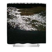 River Shimmer Shower Curtain