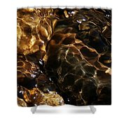 River Stones Shower Curtain