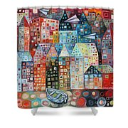 River Street Shower Curtain