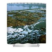 River Subernarekha Shower Curtain