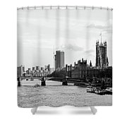 River Thames, London Shower Curtain