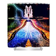 River To Eternity  Shower Curtain