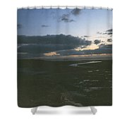River To The Sea Shower Curtain