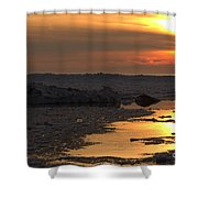 River To The Sun 2 Shower Curtain