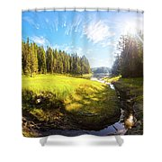 River Valley Shower Curtain