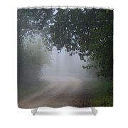 River Valley Road Shower Curtain