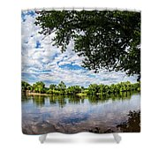 River View At Cartersville 1878ta Shower Curtain