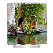 Riverfront Property Shower Curtain